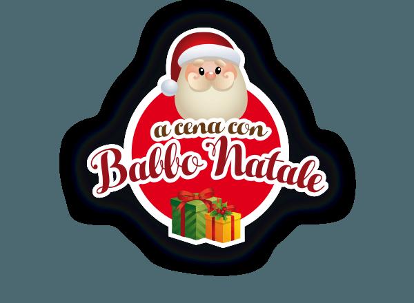 A cena con Babbo Natale